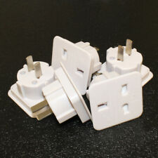 5 PACK UK 3 PIN TO USA 2 PIN TRAVEL ADAPTER US AUSTRALIA NZ CANADA CARIBBEAN