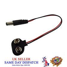 9V PP3 Battery Clip Adaptor 2.1mm DC Plug