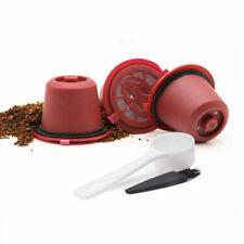Pack de 6 Capsules Rechargeables Café Compatibles Nespresso - Rouge - Neuf
