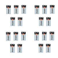 Energizer Max 9V 9 Volt 522 Alkaline Batteries Bulk 20 pk (new)