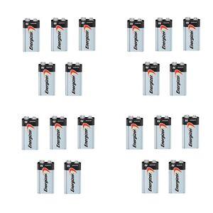 Energizer Max 9V 9 Volt 522 Alkaline Batteries Bulk 20 pk (new)Exp.12/2025