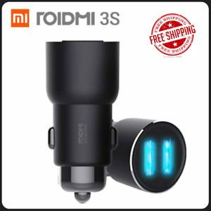 Xiaomi ROIDMI 3S Bluetooth 5.V 3.4A Car Charger FM Radio Music Player USB Smart