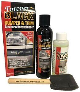 Forever Black Bumper & Trim Dye Kit 295ml - Restores Faded Bumpers & Vinyl