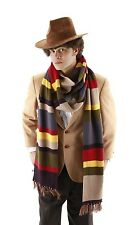 Dr Doctor Who Cosplay Scarf Fourth 4th 12' DELUXE Tom Baker Striped Cosplay