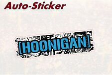 Hoonigan StickerBomb negro colorido Sticker Adhesivo digital JDM Style Tuning