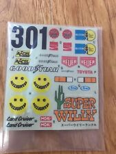 MARUI LAND CRUISER DECAL ORIGINAL VINTAGE