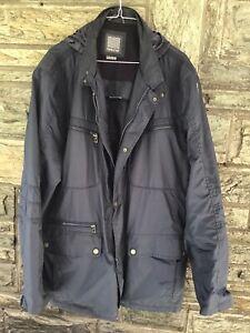 Wind- und Regenjacke von Geox, Größe 58/60, dunkelblau, kaum getragen