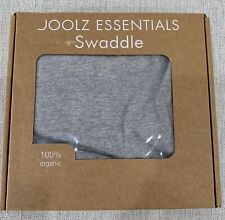 Joolz Baby Essential Swaddle - Grey - 100% Organic - New