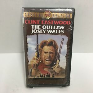 Clint Eastwood The Outlaw Josey Wales Special Edition VHS NEW CLAM SHELL SEALED