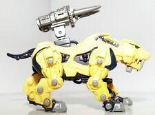 2001 Hasbro Tomy Zoids Zaber Fang Action Figure w/ mini pilot figure and weapon