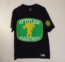 John Cena Attitude Adjustment WWE WWF Wrestling T Shirt MEDIUM M