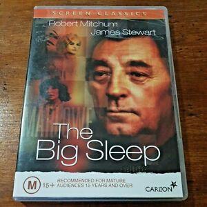 The Big Sleep DVD R4 Like New! FREE POST