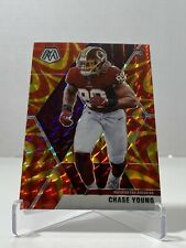 New listing 2020 Panini Mosaic Chase Young Orange Mosaic Prizm Rookie Card #202 - RC