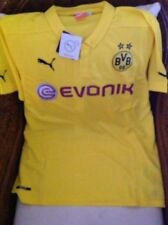 PUMA BORUSSIA DORTMUND SOCCER SHORT SLEEVE JERSEY NEW WITH TAGS SIZE XL MEN