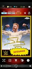 Topps WWE SLAM Digital Topps Chrome Gold Signature Sheamus