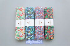 Smart Cute Funky Summer Floral H Quality Stationary Metal Tin Box Pencil Case UK