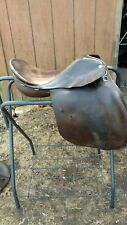 "17 1/2"" Stalker-Naffey English Saddle"