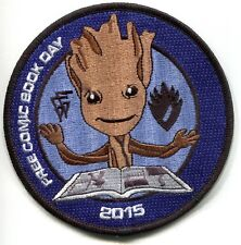 Groot Guardians of the Galaxy Patch FCBD Free Comic Book Day 2015