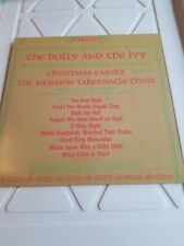 The HOLLY & THE IVY MORMON TABERNACLE CHOIR VG+ VINYL CHRISTMAS 5 LPS MAIL $5.50