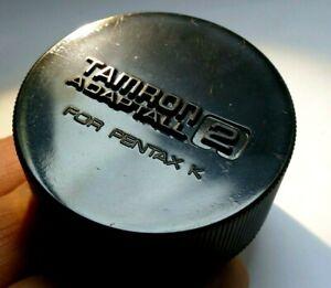 Tamron Adaptall 2 Rear Lens Cap protective Cover Pentax-K PK KA KR  mount