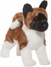 "KITA Douglas 14"" plush AKITA DOG stuffed animal cuddle toy"