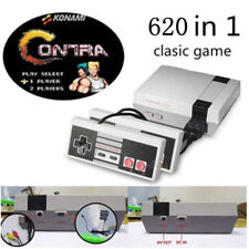 Mini Vintage Retro TV Game Console Classic 620 Built-in Games 2 Controllers 8Bit