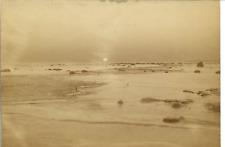 Le lever du soleil par А. И. Павельева  Vintage albumen print. Photographe Russe