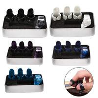 4pcs / set 1 pollice + 3 finger plettri chitarra chitarra plettri per chitarra C