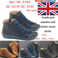 Women Boots Winter Boots Arch Support Boots Suede Snow Boots Lady Shoes NEW One