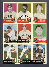 1953 Topps Baseball REPRINT 1991 Archives Pittsburgh Pirates TEAM SET