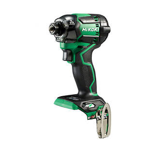 HiKOKI WH36DCNN 36V Multi Volt Cordless Impact Driver Body Only Aggressive Green