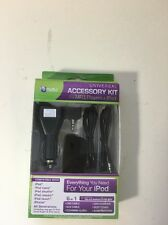 Ematic 6-in-1 Universal Accessory Kit for MP3 Players & iPod
