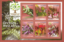 Mint Never Hinged/MNH Flowers Sierra Leone Stamps (1961-Now)