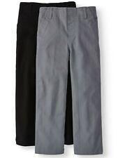 365 Kids from Garanimals Solid Woven Chino stretch Pants, 2-pack Boys size 6