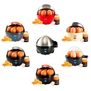 REFURBISHED Neo Electric Egg Cooker Boiler Poacher & Steamer Fits 7 Eggs