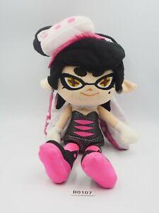 "Splatoon Squid B0107 Callie Pink Aori Inkling Sanei 2015 Plush 10"" Toy Doll"
