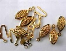 10pcs plated Iron fish clasps 12x7mm AAA##ZY559
