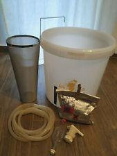 Kit spillatura birra con filtro inox adatto all grain artigianale travaso 30L