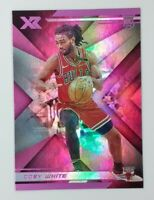 2019-20 Panini Chronicles XR Pink Coby White Rookie RC #281, Bulls, Parallel