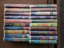 Lot of 20 Mostly Black Diamond VHS Movies