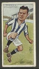 "PLAYER'S 1926 FOOTBALLERS CARICATURES BY ""RIP"" N. Bullock Cigarette Card No 5"