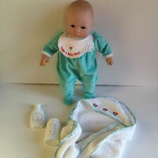 Pleasant Company Doll Bitty Baby American Girl Lot With Outfit Towel Accessories