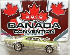 HOT WHEELS 2010 DIECAST SPACE CANADA CONVENTION '67 PONTIAC GTO W+