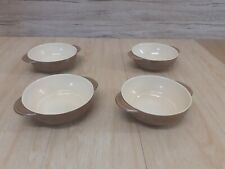 Vintage Branksome Brown 4 Serving bowls