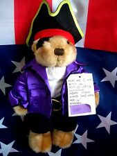 HRC Hard Rock Cafe Cayman Islands Pirat Teddy Bear Bär 2004 Herrington 10`` LE