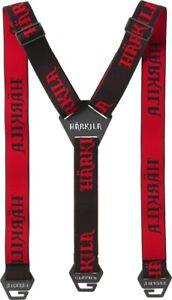 New Härkila Suspenders Tech - Shadow Brown/Red - Attachment to The Gürtellaschen