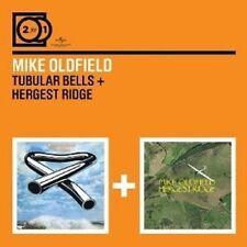 MIKE OLDFIELD - 2 FOR 1: TUBULAR BELLS/HERGEST RIDGE 2 CD NEU