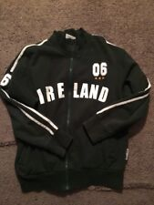 Landsdowne Full Zip Sweater Ireland #6 Green Large