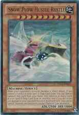 YUGIOH Card Snow Plow Hustle Rustle ZDC1-EN001 Ultra Rare  Unlimited Edition