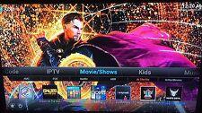 Amazon Fire TV Box 2gen Unlocked 17.3 w/Movies Sports TV24GB Game Bundle